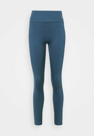 EXHALE HIGH WAIST FULL - Tights - ensign blue