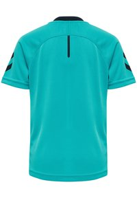 Hummel - ACTION  - Print T-shirt - bluebird/dark sapphire - 2
