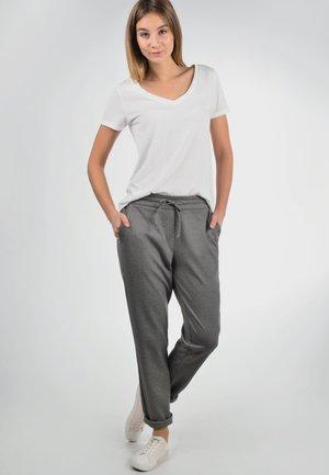 HEAVEN - Trousers - grey melange