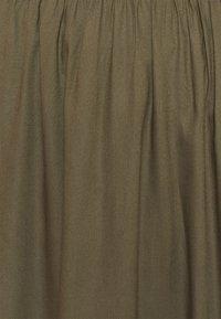 ONLY Petite - ONLVENEDIG PAPERBAG LONGSKIRT  - Maxi skirt - grape leaf - 2
