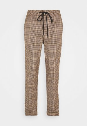 KACADENZA PANTS - Trousers - port royal/black pepita check