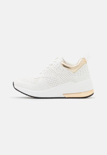 Sneakers laag - soft bianco