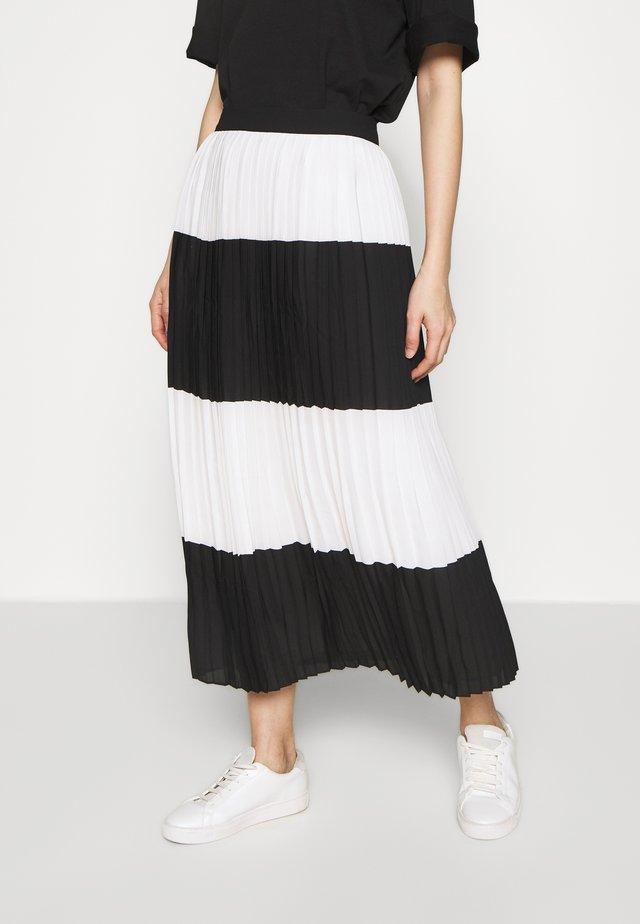 ALIA CARMEN SKIRT - A-snit nederdel/ A-formede nederdele - black white