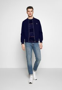 PS Paul Smith - BOMBER JACKET - Zip-up hoodie - navy - 1