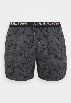FLEX STRIDE SHORT ART - Pantalón corto de deporte - black