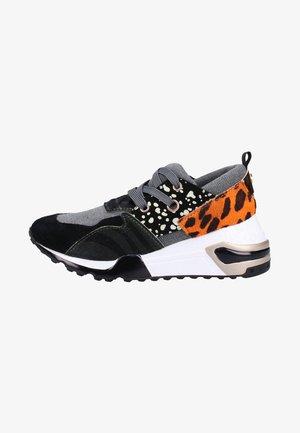 Sneakers - black/blue