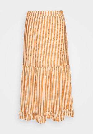 A-line skirt - sandshell/caramel