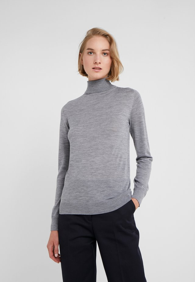 MARIA ROLL NECK - Strikkegenser - granite