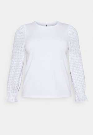 PCLIZZIE - Long sleeved top - bright white