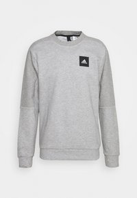 adidas Performance - CREW - Sweatshirt - mottled grey - 3