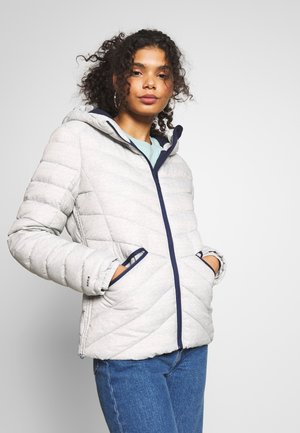ESSENTIALS HELIO PADDED JACKET - Light jacket - grey marl
