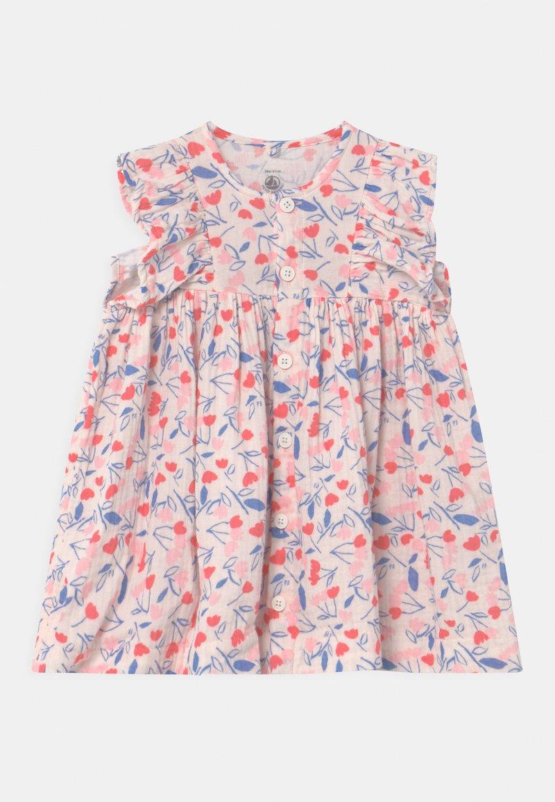 Petit Bateau - ROBE SET - Shirt dress - white/multi-coloured