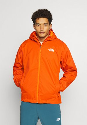 MENS QUEST JACKET - Waterproof jacket - flame/black heather