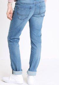BONOBO Jeans - INSTINCT - Straight leg jeans - stone blue denim - 2