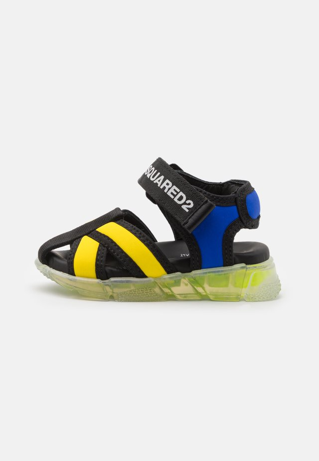 UNISEX - Sandaler - blue/yellow