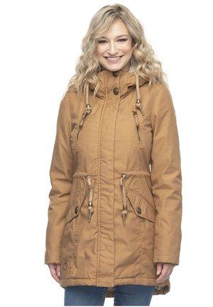 ELSIE - Winter coat - tabacco