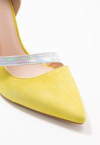 Zign - Zapatos altos - yellow - 2