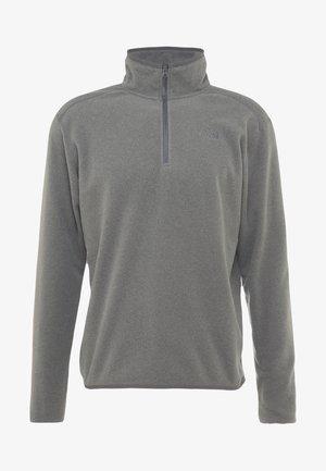 GLACIER 1/4 ZIP - Bluza z polaru - medium grey heather/high rise grey