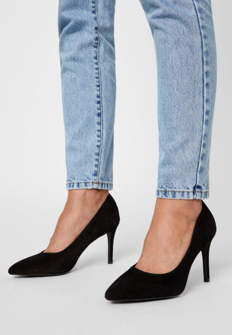 Bianco - Højhælede pumps - black