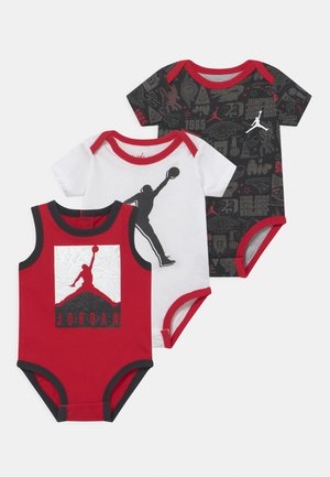 AIR ELEMENTS SET UNISEX - Top - black/red/white