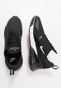 Nike Golf - AIR MAX 270 G - Obuwie do golfa - black/white/hot punch - 1