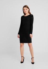 Pieces - PCNOLLIE DRESS - Jumper dress - black - 1