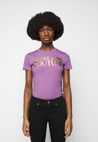 Versace Jeans Couture - Print T-shirt - fiorentina - 0