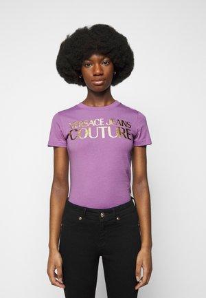 T-shirt print - fiorentina