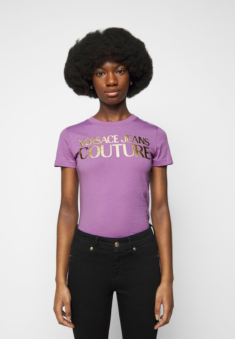 Versace Jeans Couture - Print T-shirt - fiorentina