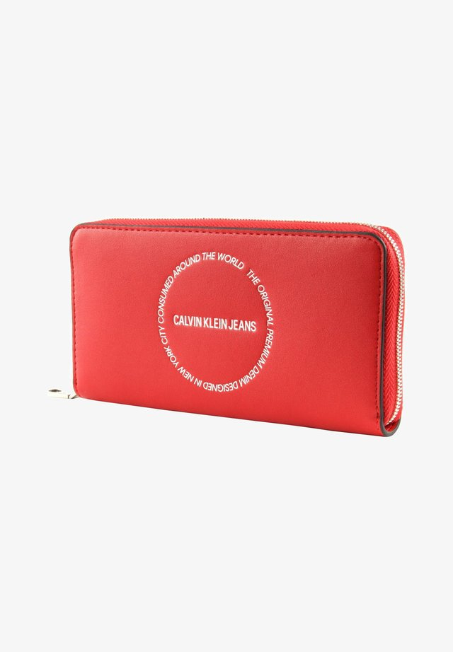 Portefeuille - racing red