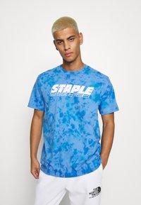 STAPLE PIGEON - LOGO TEE UNISEX - Print T-shirt - blue - 2