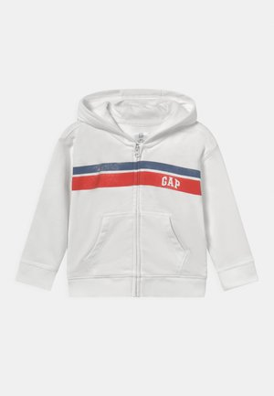 ARCH HOOD NOVELTY UNISEX - Sweater met rits - new off white