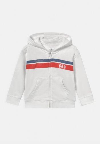 ARCH HOOD NOVELTY UNISEX - Zip-up sweatshirt - new off white