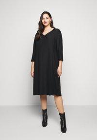 Persona by Marina Rinaldi - DORIS - Shift dress - black - 0