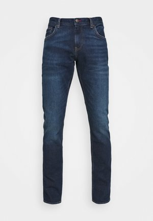 SLIM BLEECKER BOWIE BLUE - Slim fit jeans - dark blue