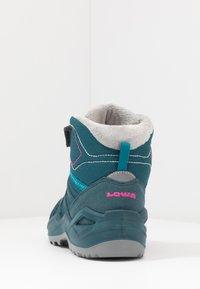 Lowa - MADDOX WARM GTX - Snowboots  - petrol/pink - 4