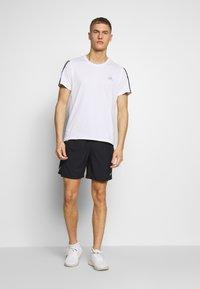adidas Performance - MIX SHORT - Sportovní kraťasy - black/white - 1