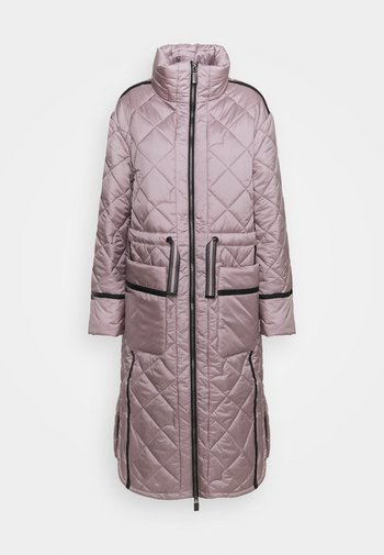WOMENS REFINED LONG QUILTED COAT