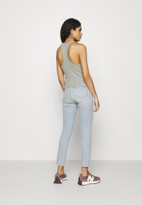Calvin Klein Jeans - HIGH RISE ANKLE - Jeans Skinny Fit - blue - 2