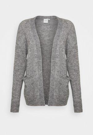 AMARA - Cardigan - dark grey melange