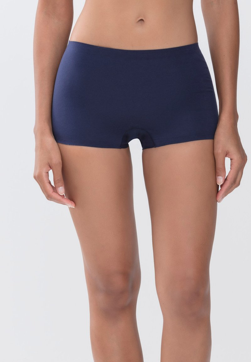 mey - SHORTS SERIE NATURAL SECOND ME - Pants - night blue