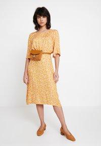Nümph - KISMET DRESS - Day dress - peach - 1