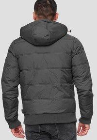 INDICODE JEANS - ADRIAN - Winter jacket - raven - 2
