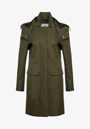 PORI - Trenchcoat - shadow green