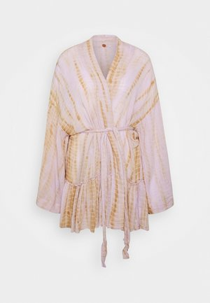 SASHA TIE DYE KIMONO - Summer jacket - purple