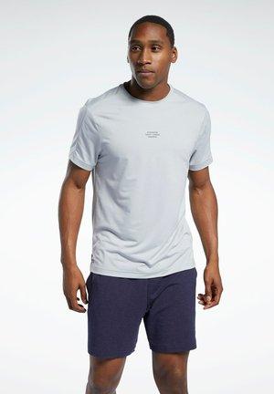LES MILLS® KNIT T-SHIRT - Print T-shirt - grey