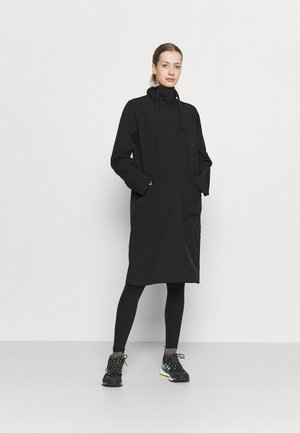 VENDELA COAT - Mantel - black