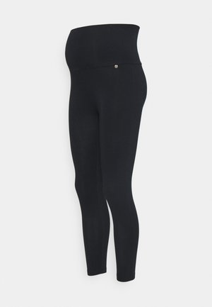 CROPPED - Legging - navy