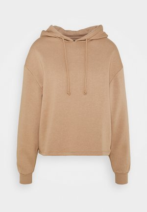 PCCHILLI HOODIE - Hoodie - warm taupe