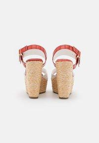 Laura Biagiotti - Platform sandals - coral - 3